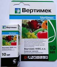 Vertimec - insectoacaricide enteric-contact action for the protection of plants