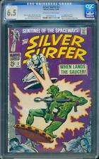 Silver Surfer 2 CGC 6.5 Silver Age Key Marvel Comic 2nd issue L@@K