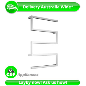 Snake Z Style 5 Rung Towel Ladder 1000 x 600mm Stainless Chrome Non Heated