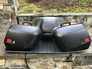 2004 BMW R1150RT Saddle Bags and Trunk (OEM)
