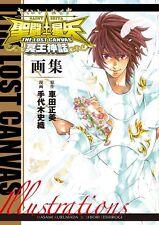 Saint Seiya The Lost Canvas Meiou Myths Art Book / Used