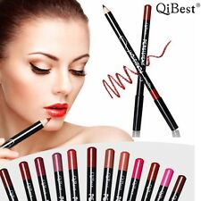 12 Colors Long Lasting Contour Pen Qibest Lipliner Pencil Makeup Waterproof