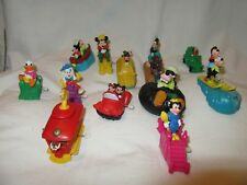 MIXED LOT OF 12 BURGER KING TOYS from 90's ~ Mostly Wind Up