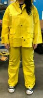 Radnor Medium Yellow .32mm Polyester And PVC 3-Piece Rain Suit | Model 64055901