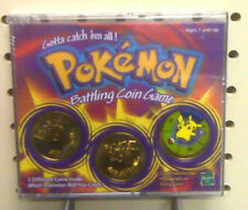 NEW - POKEMON BATTLING COIN GAME - SEALED - MADE  IN 1999 -  NEW - POKEMON