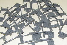 LEGO LOT OF 25 DARK BLUISH GREY HORSE HITCHING ANIMAL ACCESSORIES PIECES