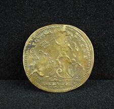 """Jeton Louis XV """"AEQUORA LUSTRANDO PACAT"""" Comptabilité de Marine token Poseidon"""