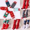 HOT NEW Mens&Womens Christmas Cotton Socks Santa Snowman Snowflake Socks Gifts