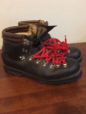 Vintage Lowa Hiking Boots Made In Germay 10.5 Dark Brown VGUC