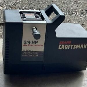 CRAFTSMAN 3/4 HP/100 PSI OIL-LESS AIR COMPRESSOR 919-150270
