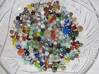 Estate Find 190+/- Marbles Mixed Lot Clay Spiral Christensen/Akro Agates++ yqz