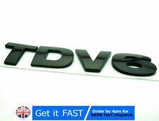 TDV6 per Land Rover ABS BLACK BADGE EMBLEMA ADESIVO del logo LR3 HSE Discovery