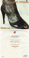 ♫ROLLING STONES Enciendeme (Start Me Up) RR 8607 MEXICO IMPORT P/S ROCK  45RPM♫