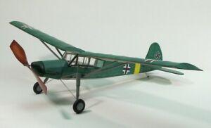 Dumas Fieseler 156 Storch (76.2cm) (308)- A Scale Rubber Powered Flying Model