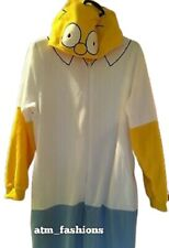 'HOMER' Mens  Onesie Sleepsuit PJs Primark Fancy Dress TV  The Simpson