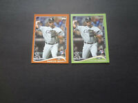 2014 Marcus Semien Topps Series 2 Green Retail Orange Hanger Rookie Lot RC 429