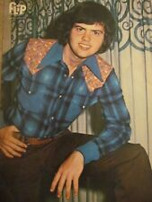Merrill Osmond, Full Page Vintage Pinup, Osmonds Brothers