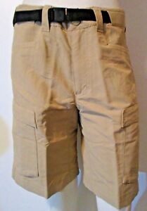NWT Mens The North Face TNF Roan Cargo Hiking Travel Backpacking Shorts - Khaki