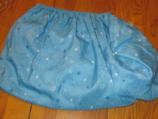 DISNEY MICKEY MOUSE FITTED CRIB SHEET/BLUE STAR PRINT/POLYESTER MICROFIBER