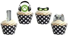 XBOX edible cup cake toppers decorations *STAND UPS*
