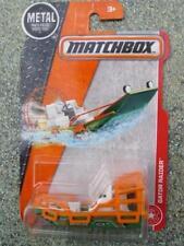 MATCHBOX 2017 #083/120 Gator RAIDER barca verde arancione EROICO Rescue lungo