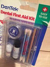 DenTek Dental First Aid Kit New