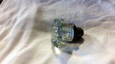 Vintage 12 Point Clear Glass Doorknob