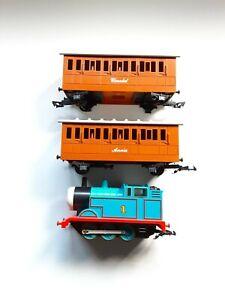 LIONEL G GAUGE 1993 THOMAS THE TANK ENGINE & FRIENDS ELECTRIC TRAIN SET, VTG