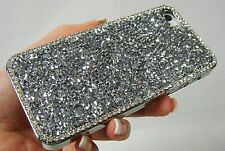 Silver Bling Made with Swarovski Crystal Rhinestone Gem Case Cover iPhone 7 Plus