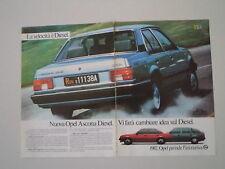 advertising Pubblicità 1982 OPEL ASCONA DIESEL