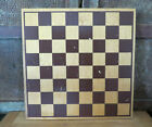 Vintage Country Wood Wooden Game Board Chess Checkerboard Painted