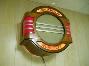 Wurlitzer 39A Jukebox STRIKE UP THE BAND wall speaker 750 800 850 950 1015 1100