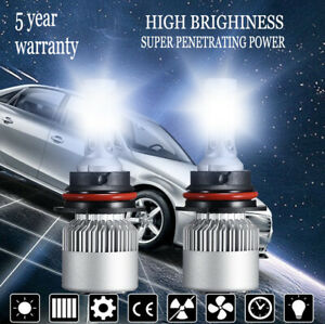 9007 HB5 Car LED 1500W 225000LM Headlight Conversion Kit White 6000K HI/LO Beam