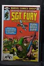 Sgt Fury and His Howling Commandos #165 Marvel 1981 Stan Lee LOW PRINT RUN 9.0