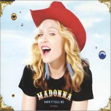 Madonna Don't Tell Me Australian 4 Track CD 1 Single - Like