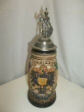 New listing Zoller & Born German Ceramic Beer Stein With Lid Knight top Limited Edition
