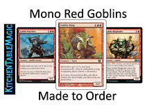MTG Mono Red Goblins - Made to Order - Custom Deck