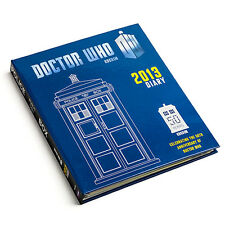 DR WHO TARDIS RARE 50TH ANNIVERSARY DIARY DAILY PLANNER BOOK WITH ALL 11 DOCTORS