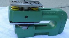 "Unipunch 8 AH 6 USED Punch & die set 3"" hole in 1/4""ms ! we ship Huge Assortment"