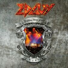 EDGUY fu**king with fire DVD LIVE +videoclips, NTSC NEW