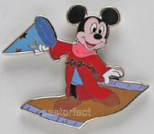 Disney LE 500 Pin Sorcerer Mickey Mouse Club Fantasia Carpet Hat + MK Map 2019