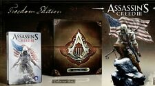 Assassin's Creed 3 III Freedom Edition  XBOX 360 NUOVO!!!!