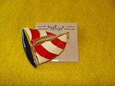 Decorative Sailing Pin by Hugo