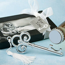 60 Key To My Heart Key Design Bottle Opener wedding favors Bridal shower