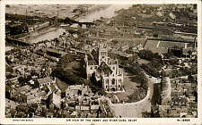 Selby. Air View of the Abbey & River Ouse by Aerofilms # 15455.