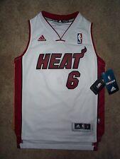 *IRREGULAR* Miami Heat LeBron James STITCHED/SEWN nba Jersey Youth S *IRREGULAR*