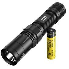 NITECORE EC23 1800 Lumen LED Flashlight & 1x 3500mAh 18650 Rechargeable Battery