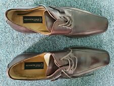Kenneth Cole Brown Leather Loafers Size 9 UK