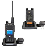 Retevis RT82 Dual Band 3000CH IP67 Waterproof DMR Walkie-Talkie DCDM with GPS