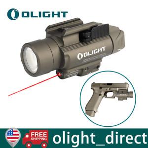 Olight Baldr RL 1120 Lumens Red Laser Tactical Flashlight Handgun  Rail Mounted